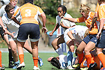 .The University of North Carolina Tar Heels played the Clemson University Tigers in a USA Rugby Women's College Rubgy Division I match. October 1, 2011 on the campus of the University of North Carolina in Chapel Hill, North Carolina.
