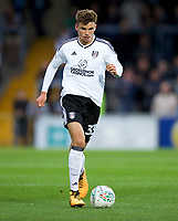 Matt O'Riley of Fulham during the Carabao Cup match between Wycombe Wanderers and Fulham at Adams Park, High Wycombe, England on 8 August 2017. Photo by Alan  Stanford / PRiME Media Images.