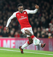 Danny Welbeck of Arsenal controls the ball during the Carabao Cup Quarter Final match between Arsenal and West Ham United at Emirates Stadium on December 19th 2017 in London, England.  <br /> Premier League 2017/2018 <br /> Foto Panoramic / Insidefoto
