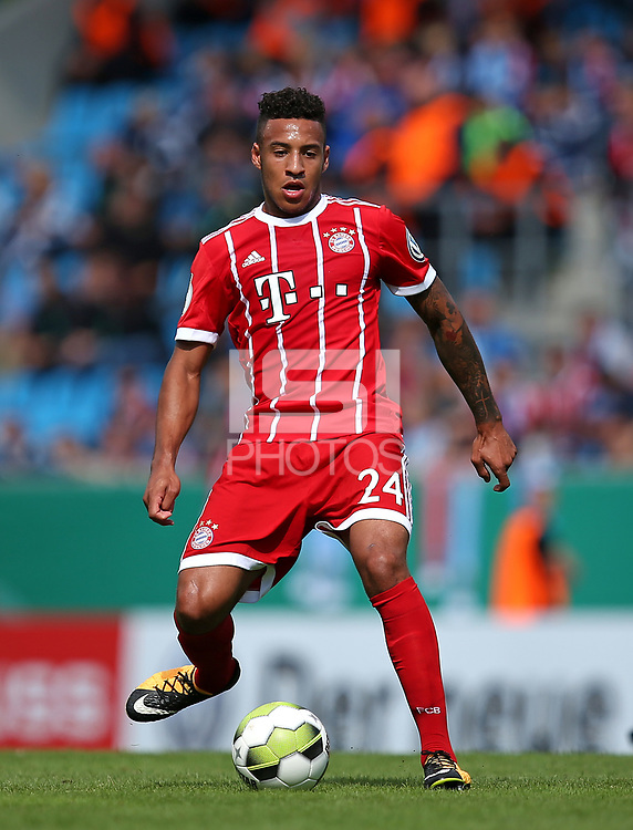 12.08.2017, Football DFB Pokal 2017/2018, 1. round, Chemnitzer FC - FC Bayern Muenchen, stadium an Gellertstrasse. Corentin Tolisso (Bayern Muenchen)  *** Local Caption *** &copy; pixathlon<br /> <br /> +++ NED + SUI out !!! +++<br /> Contact: +49-40-22 63 02 60 , info@pixathlon.de