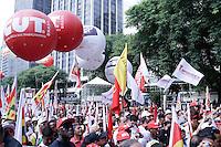 SÃO PAULO, SP, 01.05.2015 - DIA-TRABALHO - Festa do Dia do Trabalho no Vale do Anhagabaú no centro da cidade de São Paulo nesta sexta-feira, 01. (Foto: Vanessa Carvalho / Brazil Photo Press)