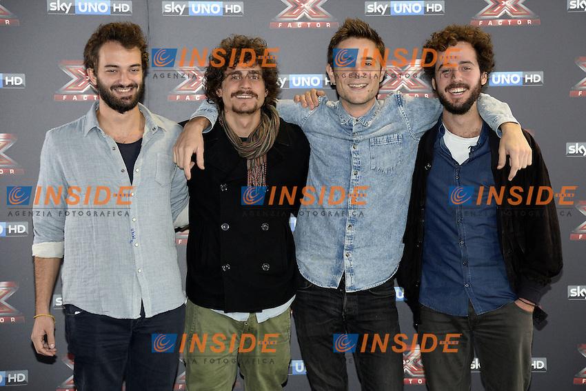 Db Milano 26/10/2016 - photocall trasmissione Tv 'X-Factor' / foto Daniele Buffa/Image/Insidefoto <br /> nella foto: Les Enfants