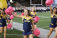 BERKELEY, CA - October 21, 2016: Cal Bears football team vs. the Oregon Ducks at California Memorial Stadium. Final score, Cal Bears 52, Oregon Ducks 49.