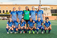 Boston, MA - Sunday September 10, 2017: Boston Breakers starting eleven during a regular season National Women's Soccer League (NWSL) match between the Boston Breakers and Portland Thorns FC at Jordan Field.