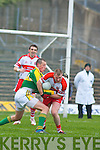 Kieran Donaghy, Niall McCusker (Derry), Kerry v Derry, Allianz National Football League, 2nd March 2008 at Fitzgerald Stadium, Killarney.   Copyright Kerry's Eye 2008