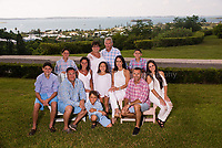 Glen Yaris family at the Fairmont