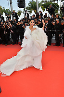 """CANNES, FRANCE. May 20, 2019: Aishwarya Rai at the gala premiere for """"La Belle Epoque"""" at the Festival de Cannes.<br /> Picture: Paul Smith / Featureflash"""