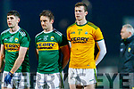 Paul Geaney Stephen O'Brien Shane Ryan Kerry players before the Allianz Football League Division 1 Round 3 match between Kerry and Dublin at Austin Stack Park in Tralee, Kerry on Saturday night.