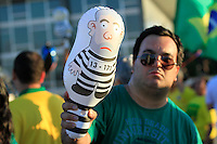 BRASILIA, DF, 21.03.2016 - MANIFESTAÇÃO-PLANALTO- Manifestação contra o Governo Dilma, em frente ao Palacio do Planalto, nesta segunda-feira, 21.(Foto:Sergio kremer/Brazil Photo Press)