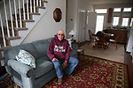 Bill Mullen sits in the living room of his new home on Coolidge Avenue in Ortley Beach, New Jersey where Super Storm Sandy wiped out most of the block including his home, in 2012.  New homes have been constructed throughout Ortley Beach and the Jersey Shore. (Bill Denver For New York Daily News)