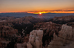 Sunrise over Bryce Canyon National Park, Sep 2015
