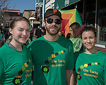 Kayla, Max and Allison during the Shamrock Shuffle 5k fun run in Sparks on Saturday, March 4, 2017.