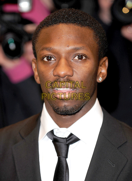 SEAN WRIGHT-PHILLIPS.Attending The Cystic Fibrosis Live Charity Dinner, Dorchester Hotel, London, England..January 31st, 2008.headshot portrait goatee moustache mustache goatee facial hair .CAP/BEL.©Tom Belcher/Capital Pictures.