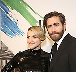 Annaleigh Ashford and Jake Gyllenhaal attends 'Sunday In The Park With George' Broadway opening night after party at New York Public Library on February 23, 2017 in New York City.