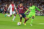 UEFA Champions League 2013/2014.<br /> FC Barcelona vs AFC Ajax: 4-0 - Game: 1.<br /> Alexis vs Vermeer.