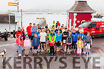 Wet & windy conditions didn't deter these runners from supporting the Valentia Island Lifeboat 5 & 10K fun runs on Saturday morning, pictured here at the start in Knightstown a brave bunch of souls.