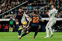 Valencia CF's Kevin Gameiro during La Liga match between Real Madrid and Valencia CF at Santiago Bernabeu Stadium in Madrid, Spain. December 01, 2018. (ALTERPHOTOS/A. Perez Meca) /NortePhoto NORTEPHOTOMEXICO