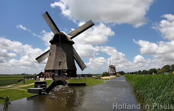 Molens in de Schermer polder