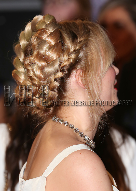 Haley Bennett, hair detail, attends 'The Magnificent Seven' Red Carpet Gala Opening Night of the 2016 Toronto International Film Festival at TIFF Bell Lightbox on September 8, 2016 in Toronto, Canada.