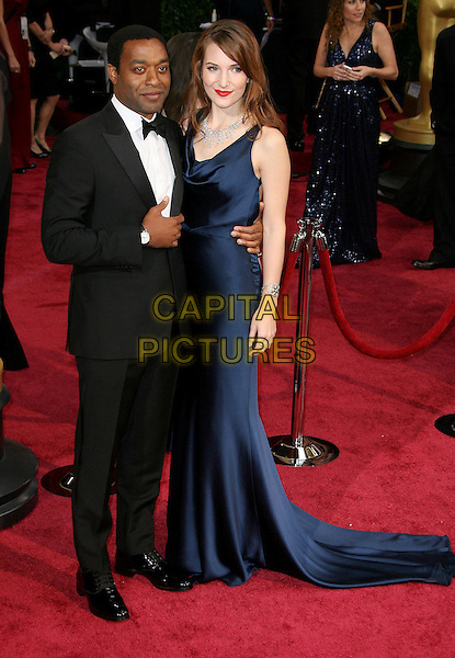 02 March 2014 - Hollywood, California - Sari Mercer, Chiwetel Ejiofor. 86th Annual Academy Awards held at the Dolby Theatre at Hollywood &amp; Highland Center. <br /> CAP/ADM<br /> &copy;AdMedia/Capital Pictures