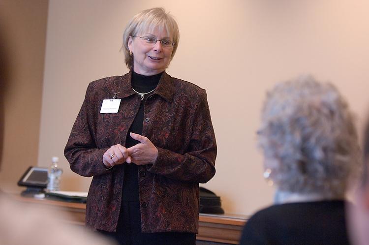 18217Ohio Women Making a Difference Conference: Sponsored by The Ohio University Foundation's Women in Philanthropy initiative...Sharon Denham(BSN'86), professor of nursing, Ohio University