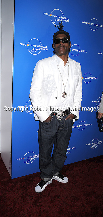 "Coolio of the new show ""Coolio's Rules""..posing for photographers at The NBC Universal Experience of their Fall 2008-2009 schedule on May 12, 2008 at Rockefeller Center. Stars from NBC, USA, Bravo, Scifi, Oxygen, Telemundo and mun2 were there. ....Robin Platzer, Twin Images"