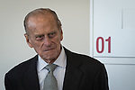 © Joel Goodman - 07973 332324 . No syndication permitted . 14/11/2013 . Manchester , UK . Prince Philip the Duke of Edinburgh on the tour of the building . Queen Elizabeth II and the Duke of Edinburgh visit the Coop building at 1 Angel Square , Manchester , this morning ( 14th November 2013 ) . Photo credit : Joel Goodman
