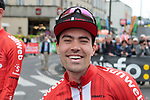 A smiling Tom Dumoulin (NED) Team Sunweb before Stage 1 of the Criterium du Dauphine 2019, running 142km from Aurillac to Jussac, France. 9th June 2019<br /> Picture: Colin Flockton | Cyclefile<br /> All photos usage must carry mandatory copyright credit (© Cyclefile | Colin Flockton)