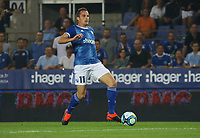 Dimitri Lienard (Racing Club de Strasbourg Alsace) - 22.08.2019: Racing Straßburg vs. Eintracht Frankfurt, UEFA Europa League, Qualifikation, Commerzbank Arena<br /> DISCLAIMER: DFL regulations prohibit any use of photographs as image sequences and/or quasi-video.
