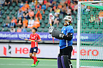 The Hague, Netherlands, June 10: Jaehyeon Kim #16 of Korea looks on during the field hockey group match (Men - Group B) between Germany and Korea on June 10, 2014 during the World Cup 2014 at Kyocera Stadium in The Hague, Netherlands. Final score 6-1 (3-0) (Photo by Dirk Markgraf / www.265-images.com) *** Local caption ***