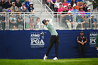 Sung Hyun Park (KOR) watches her tee shot on 1 during round 4 of the KPMG Women's PGA Championship, Hazeltine National, Chaska, Minnesota, USA. 6/23/2019.<br /> Picture: Golffile | Ken Murray<br /> <br /> <br /> All photo usage must carry mandatory copyright credit (© Golffile | Ken Murray)