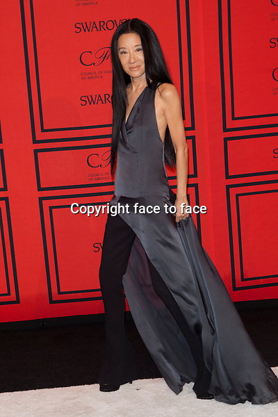 NEW YORK, NY - JUNE 3: Vera Wang at the 2013 CFDA Fashion Awards at Lincoln Center's Alice Tully Hall in New York City. June 3, 2013. <br />