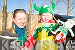 SUNSHINE: Lisa Spogler and Robin O'Doherty enjoying the sunshine at the St Patrick's Day Parade in Milltown.