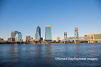 63412-01307 City Skyline and  St. Johns River, Jacksonville, FL