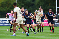Matt Williams of London Scottish in action during the Greene King IPA Championship match between London Scottish Football Club and Doncaster Knights at Richmond Athletic Ground, Richmond, United Kingdom on 30 September 2017. Photo by Jason Brown / PRiME Media Images.