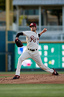 Frisco RoughRiders pitcher Joe Palumbo (21) during a Texas League game against the Amarillo Sod Poodles on May 16, 2019 at Dr Pepper Ballpark in Frisco, Texas.  (Mike Augustin/Four Seam Images)