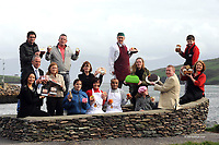 Proud food producers from all over Ireland who won  gold medal awards for their produce at the Blas na h-Eireann Food awards during the Dingle Food &amp; Wine festival at the weekend. Included are front from left, Emily Tung, Hilton Foods, Droheda, Richard Holly and Mary Kelly, 'Oliver Carty' Pork &amp; Bacon, Loretto Kiernan, Blue haven Food Company, Sarajit Chanda and Sarah NicLochlainn, Aruna Indian Sauces, Saoirse Campbell and Michelle Doyle Trevor Kearns, The Market Foodstore. At back, Iain Flynn, Cork, overall winner for his Spinach and Ricotta Canneloni, Brian and Bernie Campbell, Just Desserts Castlebar, Jerry Kennedy, The Dingle Butcher, Cormac and Ann Marie Walsh Holycross Kitchens, Tipperary.<br /> Picture by Don MacMonagle<br />  <br /> <br /> <br /> &copy; Photo by Don MacMonagle - macmonagle.com<br /> info@macmonagle.com