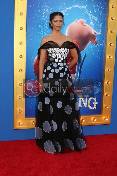 "Camila Alves McConaughey<br /> at the ""Sing"" Premiere, Microsoft Theater, Los Angeles, CA 12-03-16<br /> David Edwards/DailyCeleb.com 818-249-4998"