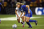 02 December 2011: Duke's Maddy Haller. The Duke University Blue Devils defeated the Wake Forest University Demon Deacons 4-1 at KSU Soccer Stadium in Kennesaw, Georgia in an NCAA Division I Women's Soccer College Cup semifinal game.