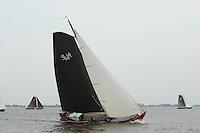 SKUTSJESILEN: SNEEK: Snitser Mar, 21-05-2011, SKS skûtsjesilen, skûtsje Stavoren, Súdwesthoek, schipper Auke de Groot, ©foto Martin de Jong