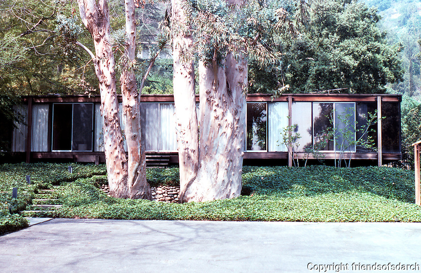 Craig Elwood: Kubly House, Pasadena 1964.  Photo '89.