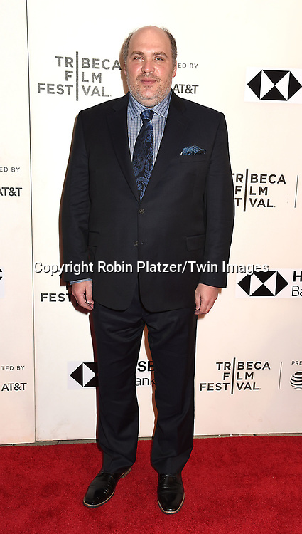"actor Glen Fleshler attends ""The Seagull"" Screening at the Tribecca Film Festival at BMCC on April 21, 2018 in New York City, New York, USA.<br /> <br /> photo by Robin Platzer/Twin Images<br />  <br /> phone number 212-935-0770"