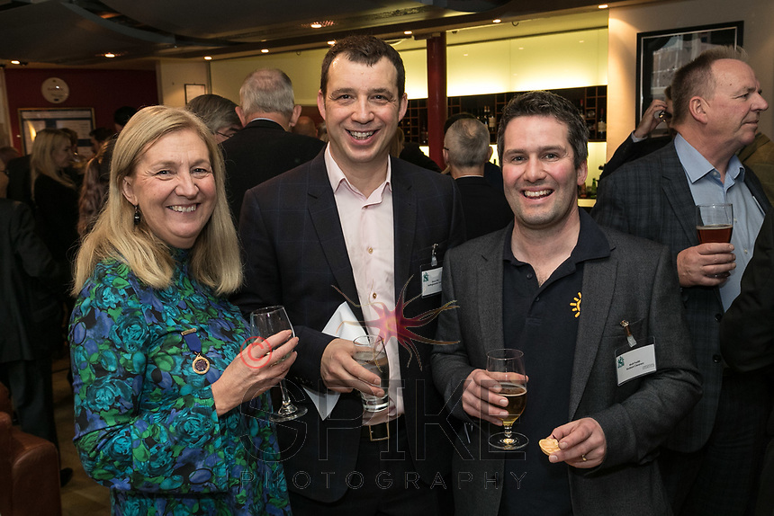 Pictured from left are Dianne Allen of Gemini PR & Marketing, Simon Firth of Nottinghamshire Police and Matt Parfitt of Radiant Cleaners