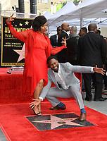 LOS ANGELES, CA. January 28, 2019: Taraji P. Henson &amp; Kelvin Hayden at the Hollywood Walk of Fame Star Ceremony honoring Taraji P. Henson.<br /> Pictures: Paul Smith/Featureflash