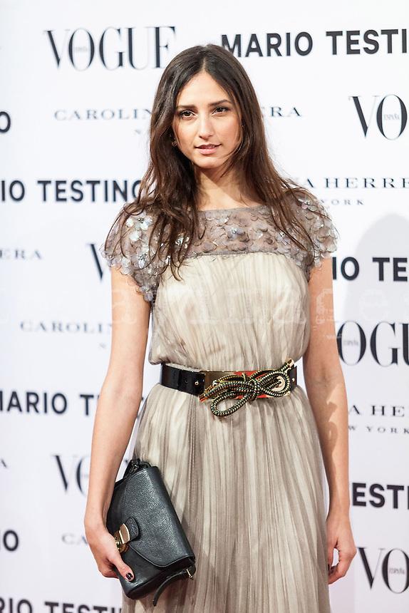 Mayte de la Iglesia at Vogue December Issue Mario Testino Party