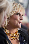 London, UK. 29 June 2016. Actress Jennifer Saunders. World premiere of Absolutely Fabulous - the Movie in London's Leicester Square.