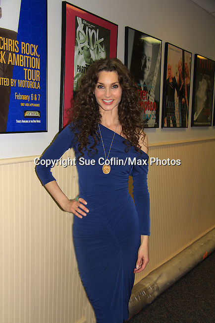 "- A Tribute to Pine Valley - All My Children's Alicia Minshew ""Kendall"" on February 16, 2013 with fans for Q&A, autographs, photos at Foxwoods Resorts Casino in Mashantucket, CT and February 17, 2013 at Valley Forge Casino Resort in King of Prussia, PA. (Photo by Sue Coflin/Max Photos)"