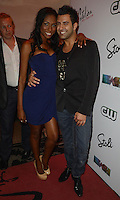 MIAMI BEACH, FL - MAY 22: Denia Hall and Eyal Vick attend The Catalina reality show premiere party at Catalina Hotel on May 22, 2012 in Miami Beach, Florida. (photo by: MPI10/MediaPunch Inc.)