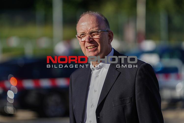 Marco Fuchs (Werder Bremen Aufsichtsrat)<br /> <br /> <br /> Sport: nphgm001: Fussball: 1. Bundesliga: Saison 19/20: Relegation 02; 1.FC Heidenheim vs SV Werder Bremen - 06.07.2020<br /> <br /> Foto: gumzmedia/nordphoto/POOL <br /> <br /> DFL regulations prohibit any use of photographs as image sequences and/or quasi-video.<br /> EDITORIAL USE ONLY<br /> National and international News-Agencies OUT.
