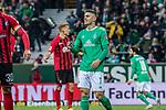 02.11.2019, wohninvest WESERSTADION, Bremen, GER, 1.FBL, Werder Bremen vs SC Freiburg<br /> <br /> DFL REGULATIONS PROHIBIT ANY USE OF PHOTOGRAPHS AS IMAGE SEQUENCES AND/OR QUASI-VIDEO.<br /> <br /> im Bild / picture shows<br /> Milot Rashica (Werder Bremen #07) ärgert sich über vergebene Torchance, <br /> <br /> Foto © nordphoto / Ewert